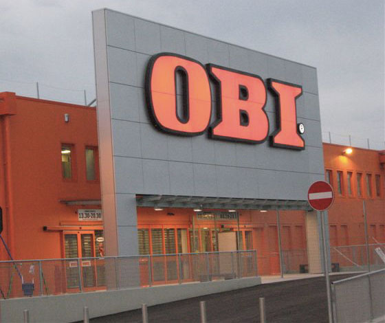 Riccardi group super store obi venezia for Castorama mestre